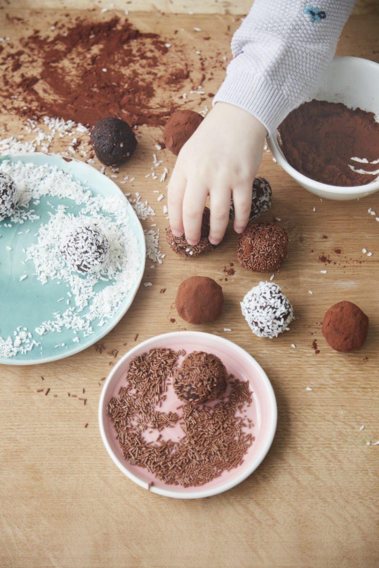 No-Sugar Chocolate Orange Energy Balls Recipe by Annabel Karmel