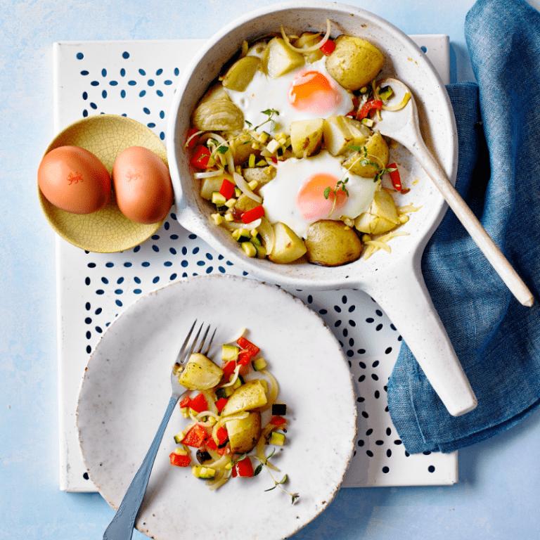 One-pan Egg & Veg Recipe by Annabel Karmel