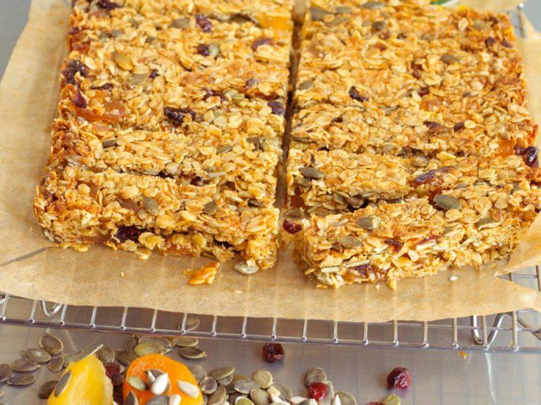 Power Packed Oat Bars recipe by Annabel Karmel