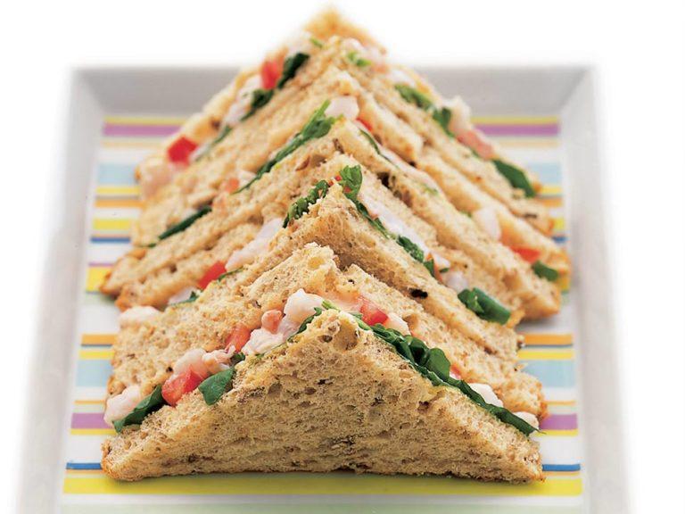 Prawn & Watercress Sandwiches recipe by Annabel Karmel