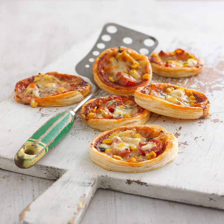 Puff Pastry Pizzas recipe by Annabel Karmel