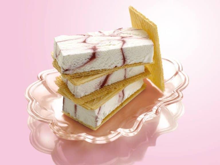 Raspberry Ripple Ice Cream recipe by Annabel Karmel
