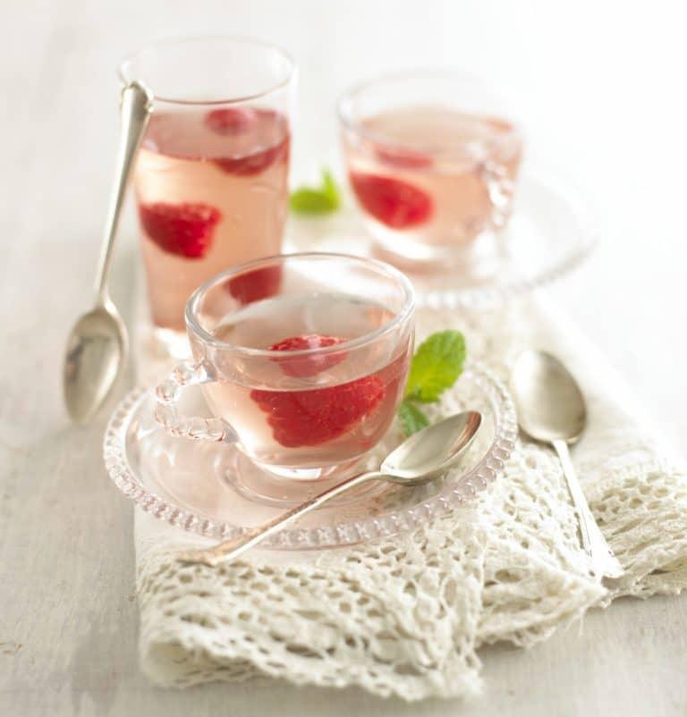 Raspberry & Elderflower Jelly Recipe by Annabel Karmel