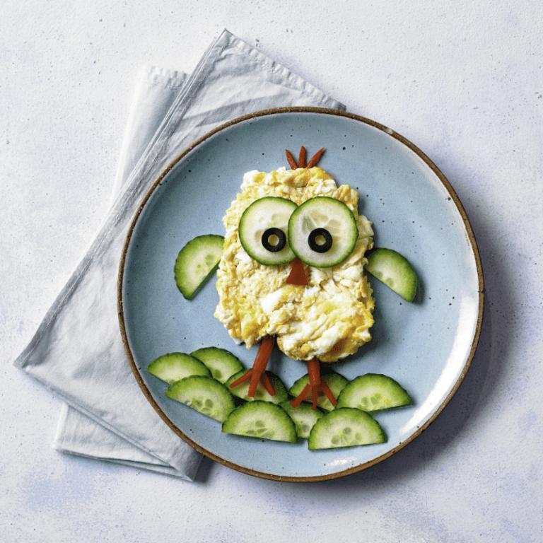 Little Chick Scrambled Egg recipe by Annabel Karmel