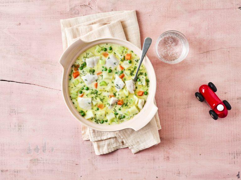 Annabel's Scrummy Fish Chowder Recipe by Annabel Karmel