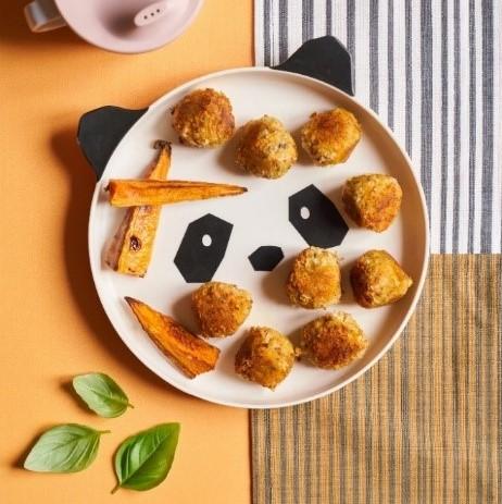 SALMON & SWEET POTATO BALLS recipe by Annabel Karmel