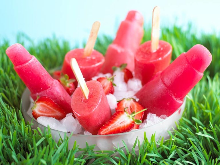 Strawberry Sorbet recipe by Annabel Karmel