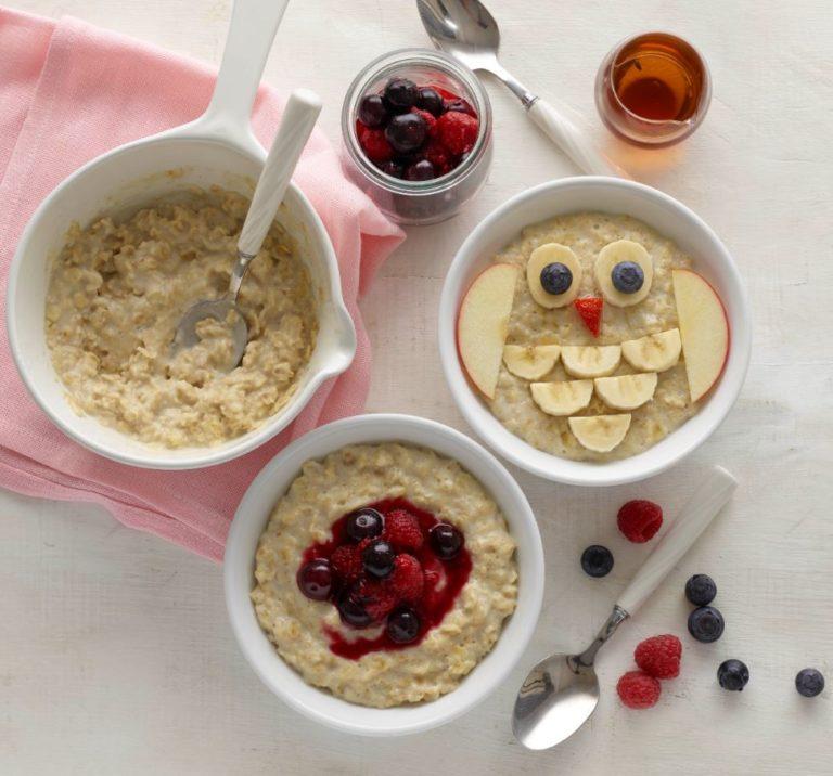 Almond Milk Porridge with Berries Recipe by Annabel Karmel