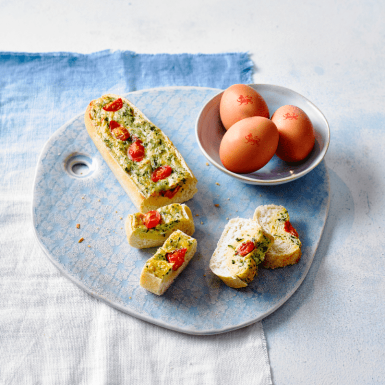egg, cheese and tomato boats recipe annabel karmel