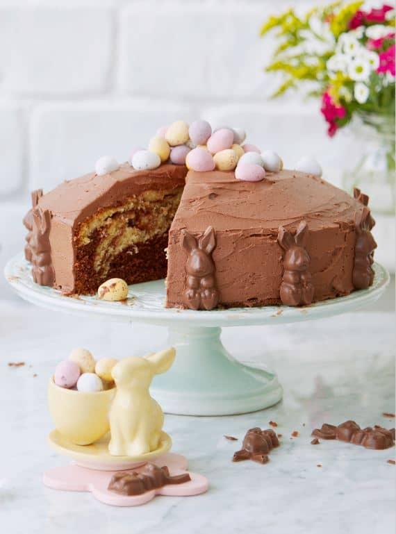 Bunny Marble Cake recipe by Annabel Karmel