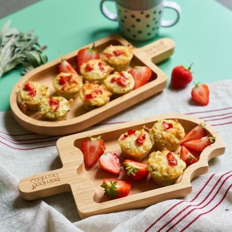 cauliflower and brccoli cheesy tots recipe by Annabel Karmel