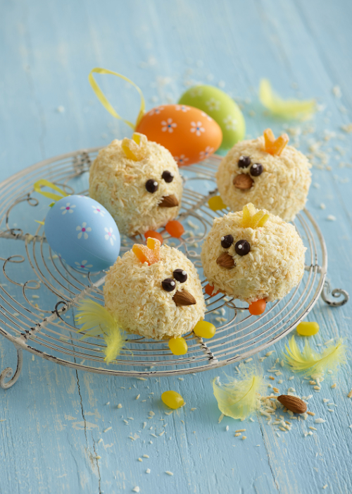 Coconut Chick Cupcakes recipe by Annabel Karmel
