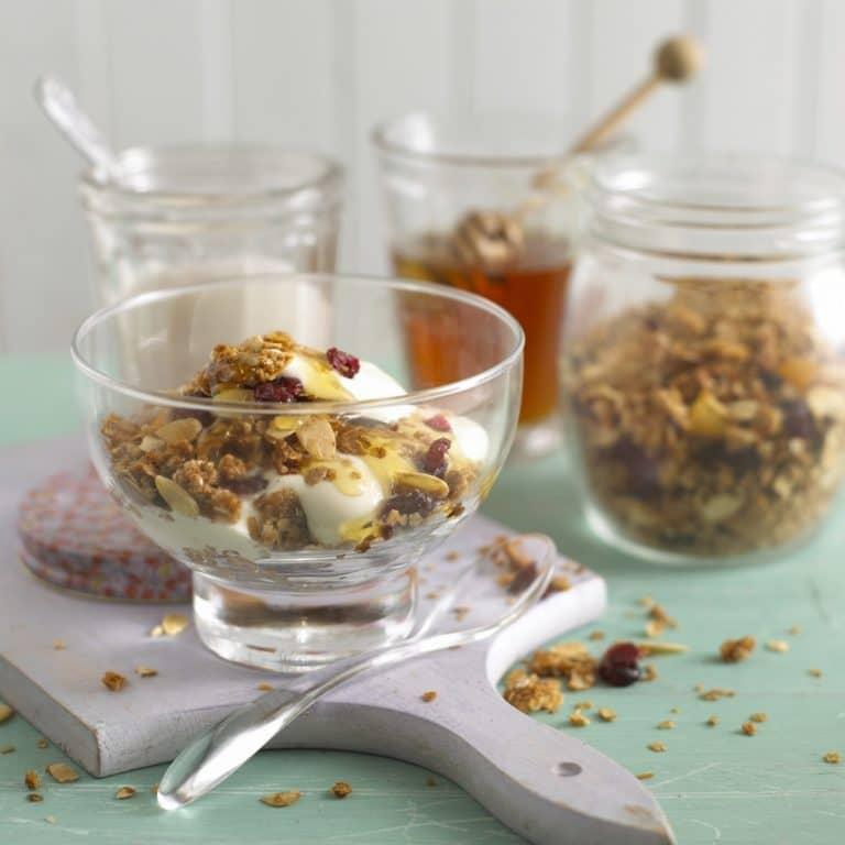 Cinnamon Almond Granola Recipe by Annabel Karmel