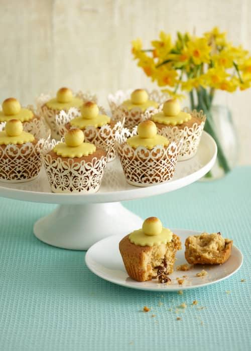 Scrumptious Simnel Muffins recipe by Annabel Karmel