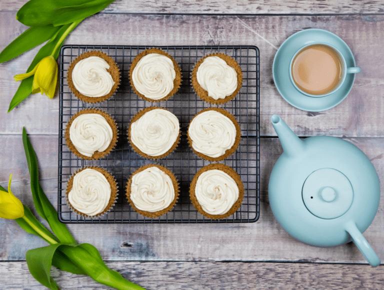 Coffee and Walnut Cupcakes recipe by Annabel Karmel