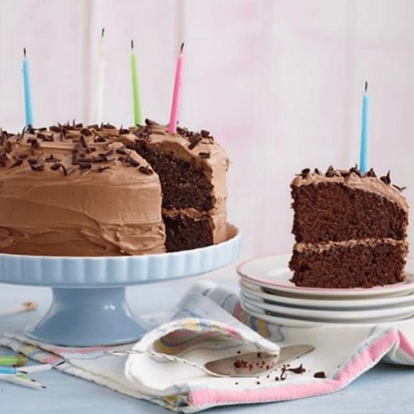 Dairy & Egg Free Chocolate Cake Recipe by Annabel Karmel