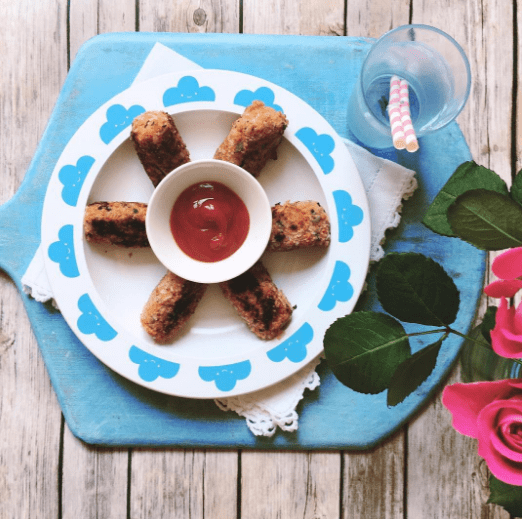 Easy Salmon Rissoles recipe by Annabel Karmel