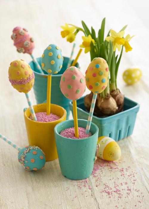 Popcake Easter Eggs recipe by Annabel Karmel