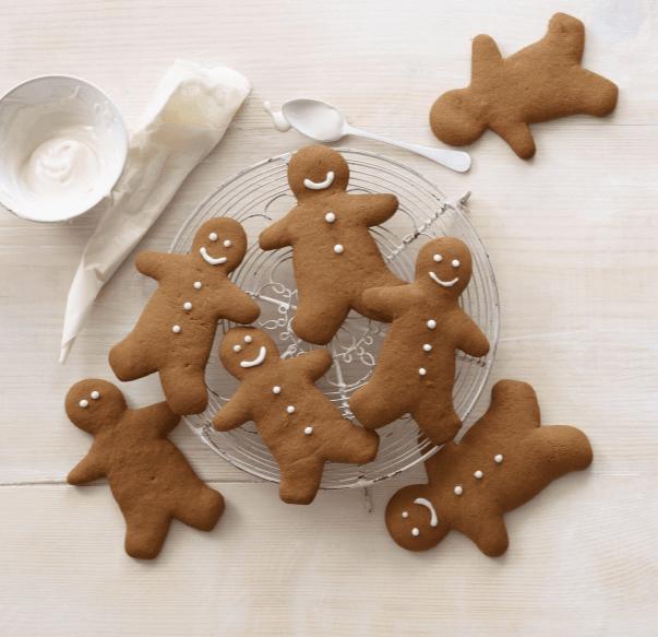 Gingerbread Men Cookies recipe by Annabel Karmel