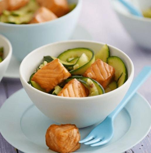 Glazed Salmon recipe by Annabel Karmel