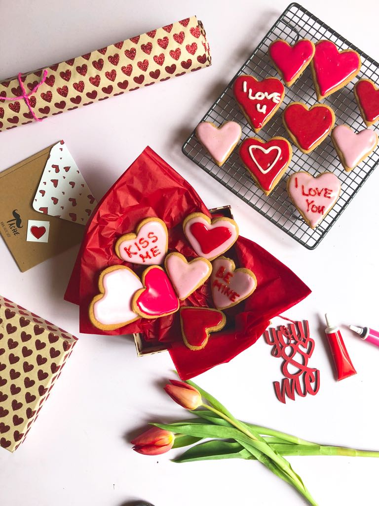 Ginger Heart Biscuits Recipe by Annabel Karmel
