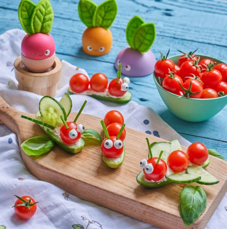 Piccolo Tomato Insects recipe by Annabel Karmel