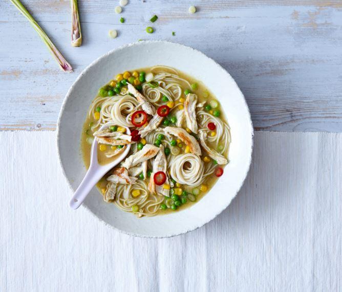 Annabel's Chicken & Corn Laksa Recipe by Annabel Karmel