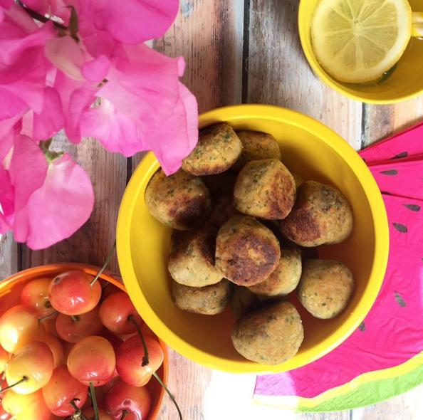 Salmon & Quinoa Balls recipe by Annabel Karmel