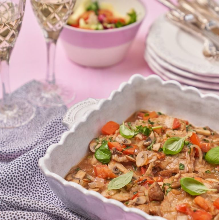 Veal Marsala with Mushrooms & Shallots Recipe by Annabel Karmel