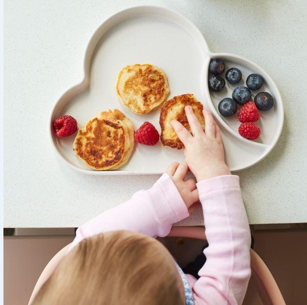 Yoghurt Pancakes with Berries Recipe by Annabel Karmel