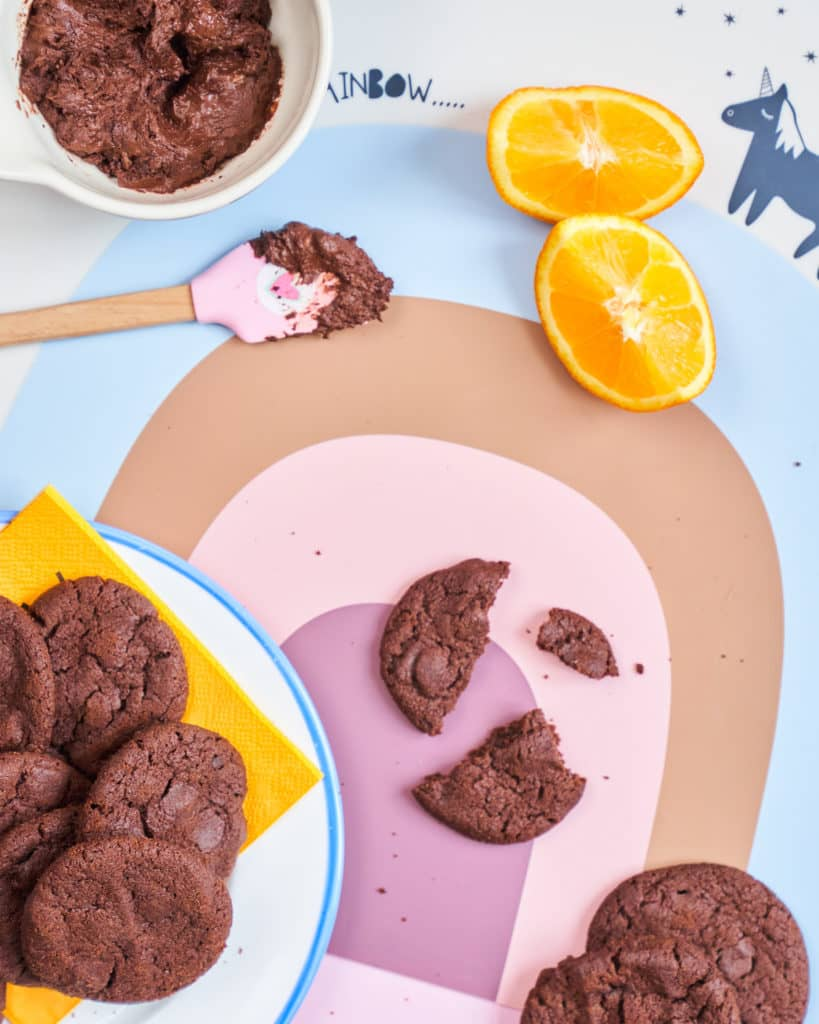 Chocolate Orange Cookies recipe by Annabel Karmel