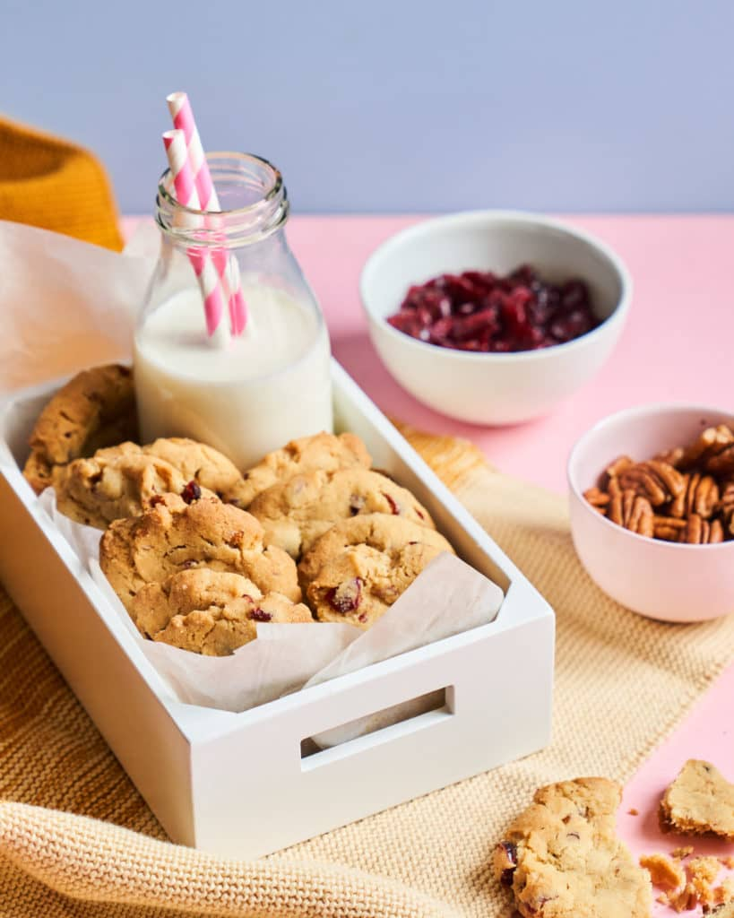Cranberry & Pecan Cookies recipe by Annabel Karmel