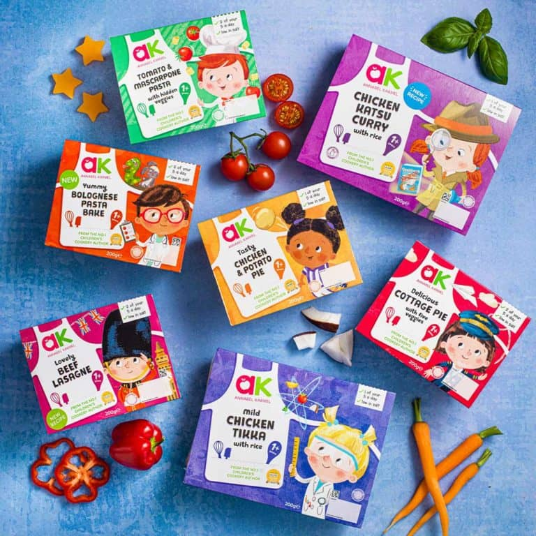 Chilled Meals for Toddlers & Children